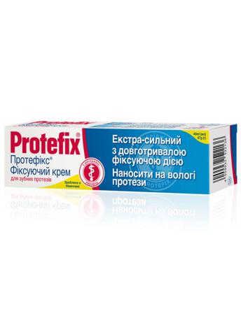 Крем для фіксації зубних протезів Protefix Класичний